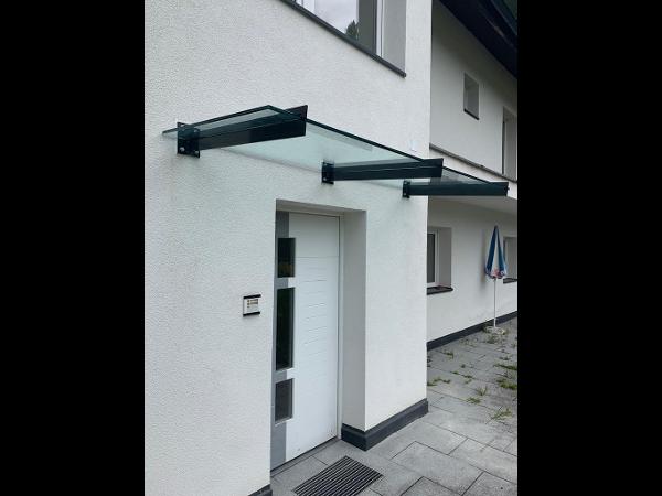 Vorschau - Vordach aus Glas