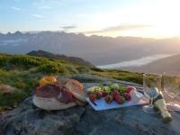 Sonnenaufgangsfrühstück