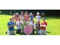 Golf für die ganze Familie. Besonders gefördert wird die Jugendarbeit mit Headpro Jennie Dunn