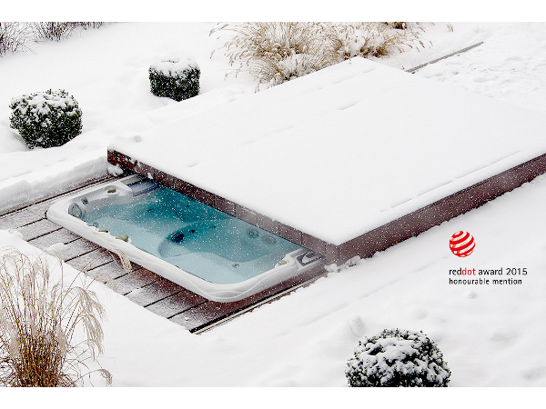 Armstark Pool Lounge® im Winter