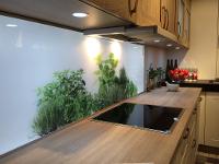 Küchenrückwand mit Motiv