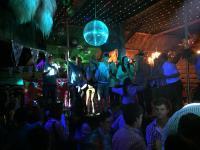 Die Tanzbar der Disco Villa