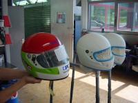 Lackierung Helme