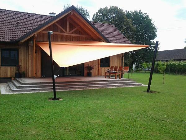 Sonnensegel in der Steiermark