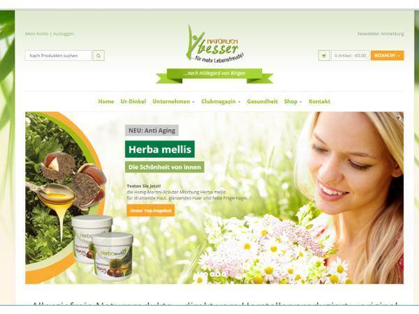 Maria Adam Naturprodukte  SEO Management - WEB Backend Support
