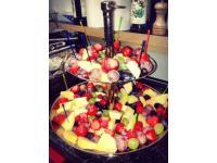 Frische Früchte zum Dazunaschen