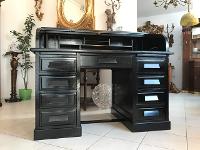 Designertisch Schmiedeeisentisch Tafeltisch Holz