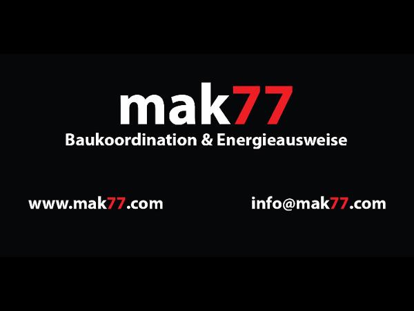 Vorschau - mak77 - Baukoordination & Energieausweise