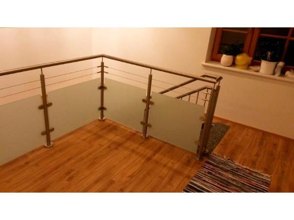 Edelstahl Geländer für Innen und Außen