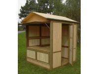 Systemhütte 2 x 2 Meter