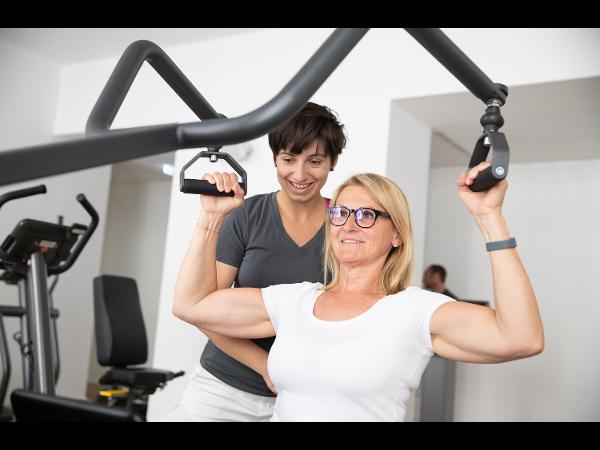 Vorschau - Physiotherapie und Training