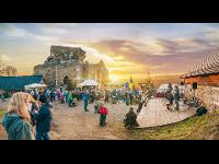 Weihnachtsmarkt auf der Burgruine Aggstein