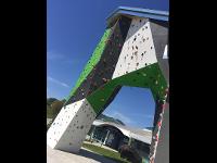 Klettern, Fitness und Entspannung unter einem Dach