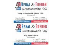 Behal & Ederer Rechtsanwälte OG