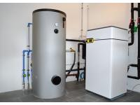 Hoch effiziente Schnauer-Wärmepumpen-Heizung