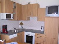 Küche im Appartement Wildkogel