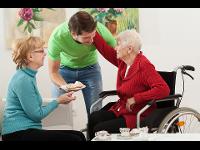 Unsere Pflegekräfte unterstützen sie im Alltag