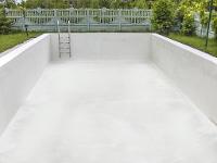 Schwimmbad mittels NCT abgedichtet