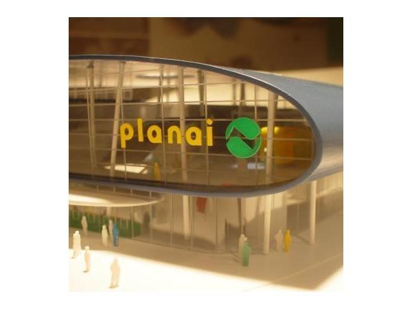 Vorschau - Architekturmodell Talstation Planai