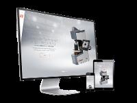 Webportal mit Produkt Konfigurator & Corporate Design für Qness Härteprüfung