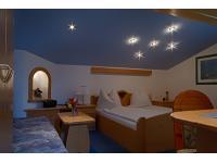 Der Sternenhimmel unseres Romantikzimmers!