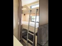 Wohnwagen Innenansicht (Stockbett)