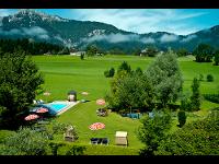 Hotelgarten mit Panoramablick