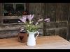 Deko mit frischen Blumen