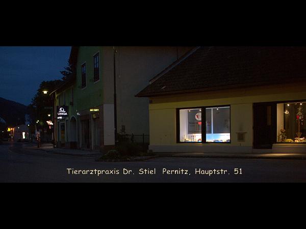 Ordination Pernitz, Bei Nacht