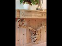 Barock Wandtisch