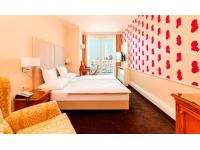 Doppelzimmer mit Blick zum Stephansdom Hotel Am Parkring Wien