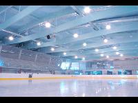 Eissporthalle für Publikumseislauf, Eisdisco, etc.