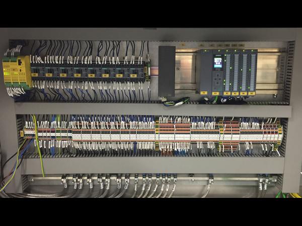 Vorschau - Sondermaschinen Elektroschrank mit SPS