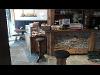 Thumbnail Wandpaneele in kombination mit Altholz dazu Luserna Gneis Bodenplatten