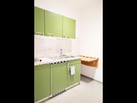 Kleinküchen in allen Apartments