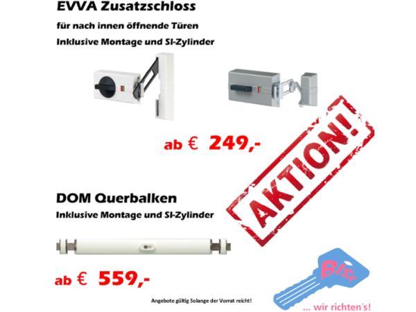 Vorschau - Zusatzschloss + Balkenschloss AKTION