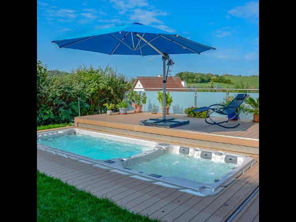 Swim Spa Boost + Pool Lounge® | TCS