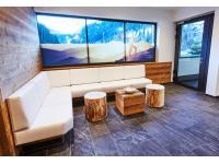 Lounge in dem Wellnessbereich