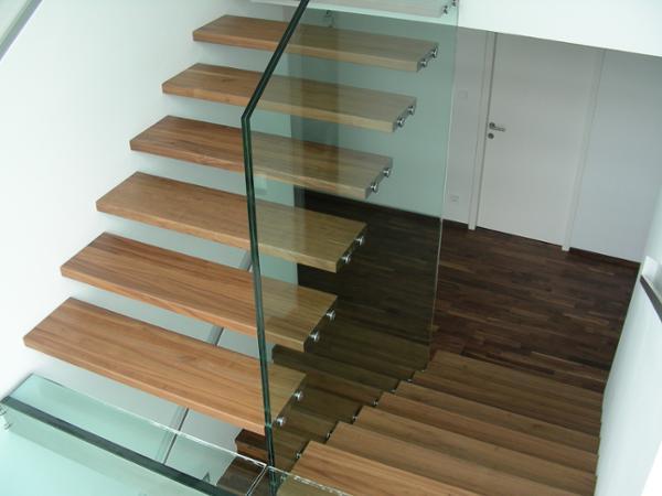 Vorschau - Stiegenaufgang aus Glas