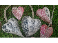 Handgefertigte Keramik