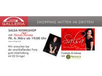 Salsa-Workshop in der Galleria!