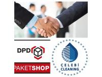 Paketdienst DPD – (bei uns können auch die Kunden ihr Paket abholen.)