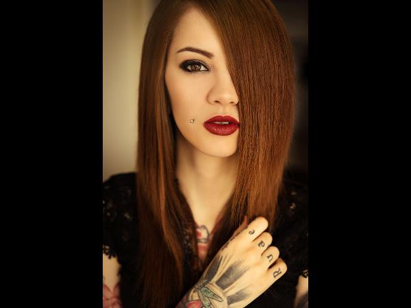 Portrait bei Tageslicht