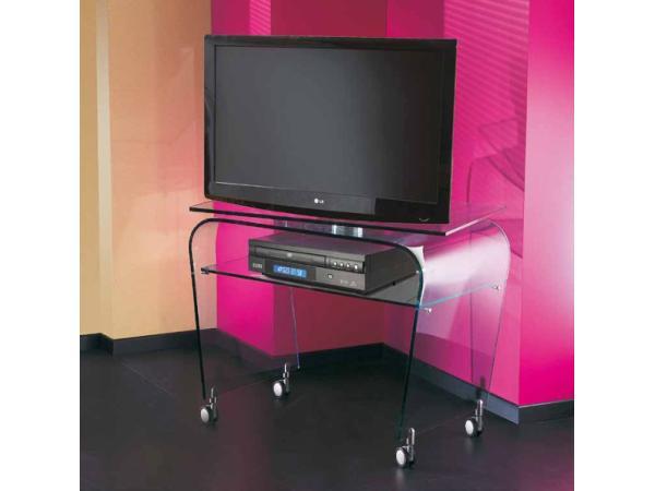 Vorschau -  TV-Tisch aus gebogenen  Glas