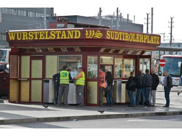 Vorschau - Foto 1 von Würstelstand Südtirolerplatz
