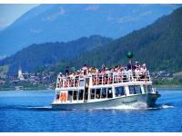 Mit dem Schiff zu den schönsten Plätzen am Weißensee