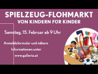 Kinder Spielzeug-Flohmarkt in der Galleria!