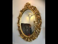 vergoldeter Florentinerrahmen , original um 1800