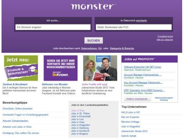 Monster Worldwide Austria GmbH (vormals jobpilot Austria GmbH ...