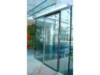 Automatische Glasschiebetüre